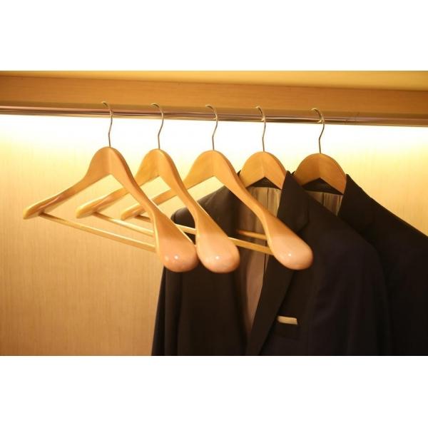 Вешалка плечики деревянная для одежды  305D-N класс А