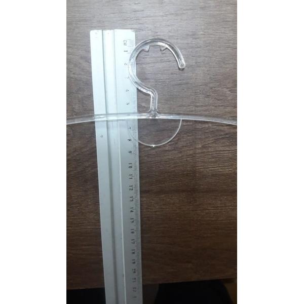 Вешалка для нижнего белья с прищепками прозрачная С27