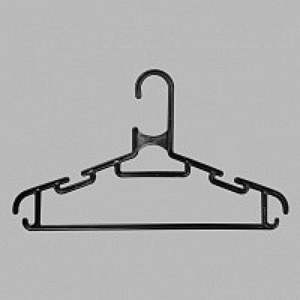 Детские плечики для одежды черные ВД-20