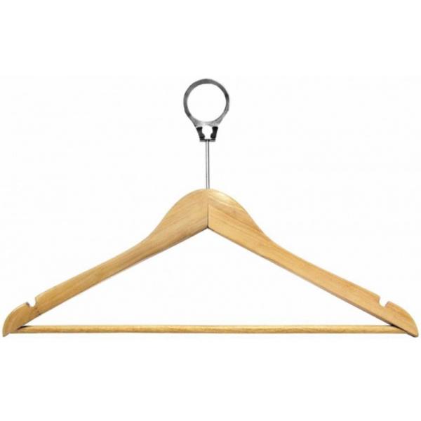 Вешалка деревянная для одежды антивандальная с перекладиной класс В (30НПВ)