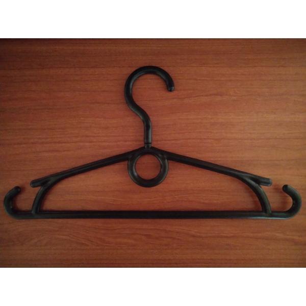 Детские вешалки для одежды с поворачивающимся крючком черная ПО-5